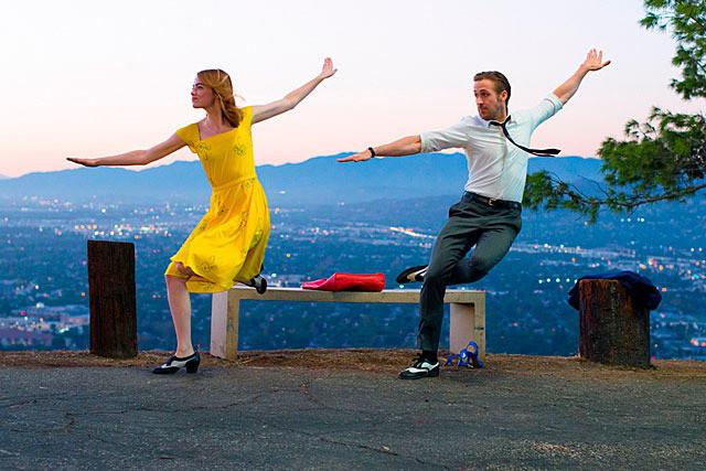 ラ・ラ・ランド ダンスをするミアとセブ