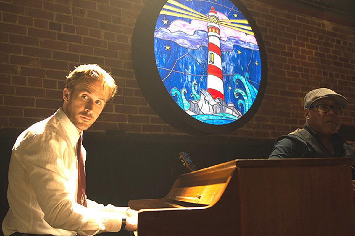 ラ・ラ・ランド ピアノ演奏するセブ