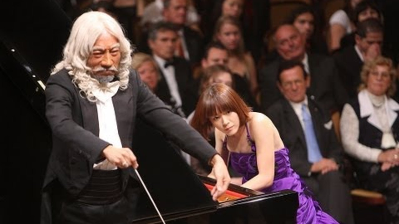 のだめカンタービレ 最終楽章 前編 後編 ピアノを演奏するのだめ