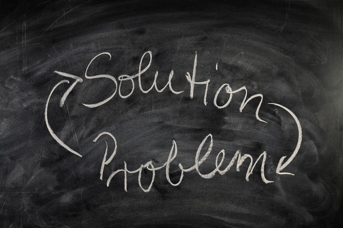 問題と解決策の画像