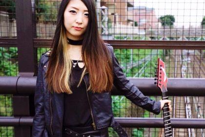 女性ギタリストERIKAをBandKnowledgeインディーズ・メジャーデビューを目指すミュージシャンのためのバンド活動お役立ち音楽情報サイトBandKnowledgeで紹介